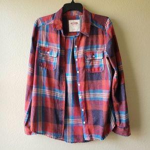 Mossimo Plaid Flannel Shirt
